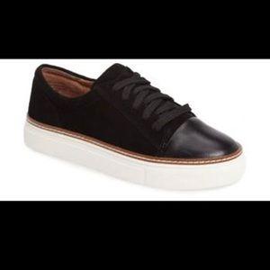 Caslon Camden suede black sneakers